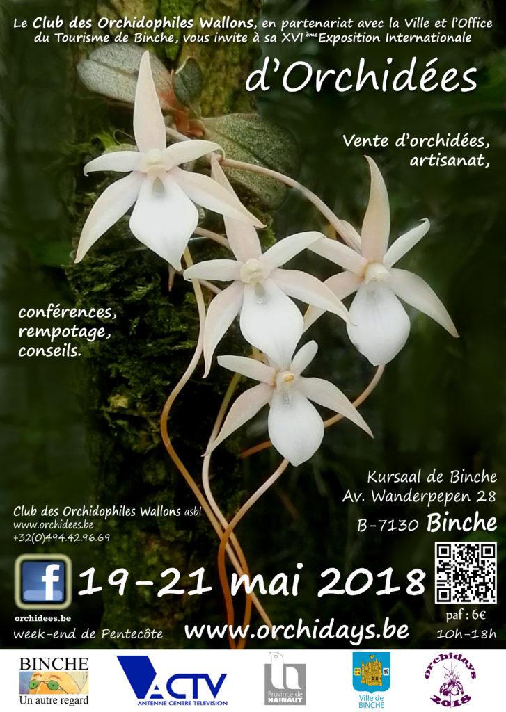 2018 affiche Orchidays